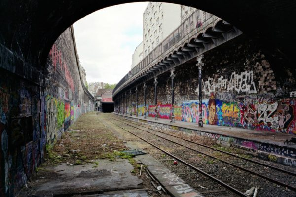 Thomas Jorion – Petite Ceinture and Piscine Molitor, ruins enhanced by the photographer